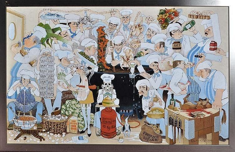 Robert Olley Robert Olley Works on Sale at Auction Biography