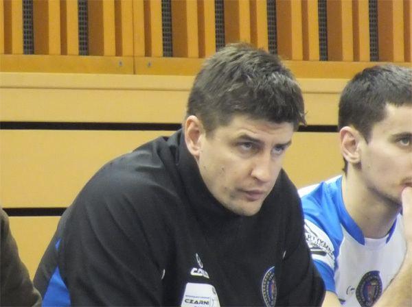 Robert Prygiel Robert Prygiel i Wojciech aliski po meczu pucharowym