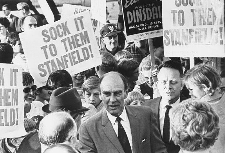 Robert Stanfield Flashback Friday Robert Stanfield The Ordinary Political