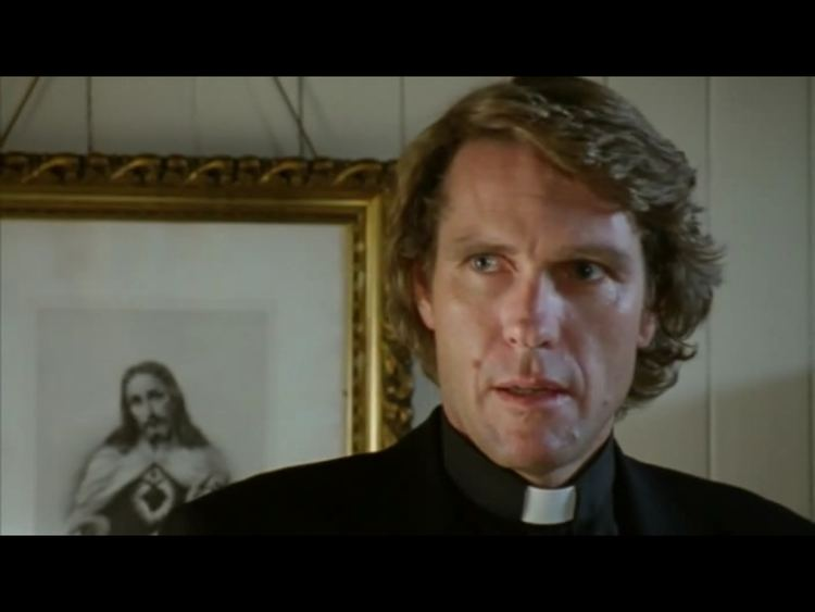 Robert Taylor as Father Vincent Sheahan, an Austrailian priest from the television drama Ballykissangel