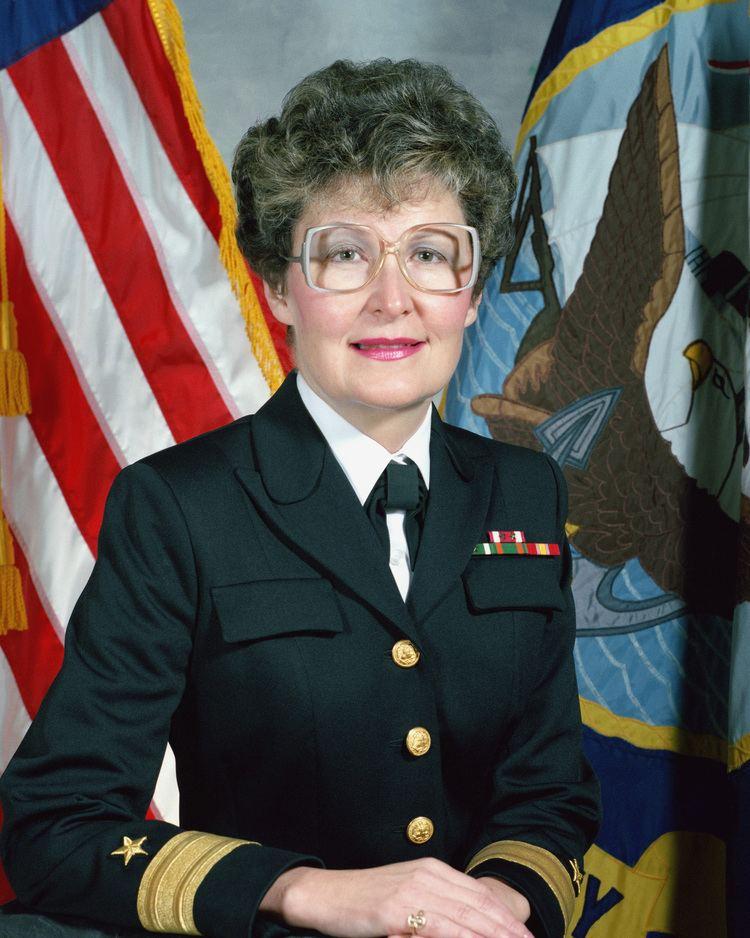Roberta L. Hazard Commodore Roberta L Hazard USN uncovered