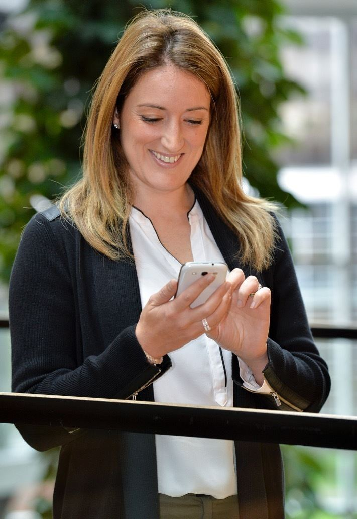 Roberta Metsola Roaming charges in EU consigned to history MEP Roberta Metsola
