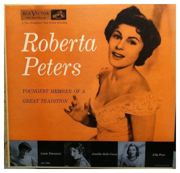 Roberta Peters Robert Peters Interviews with Bruce Duffie