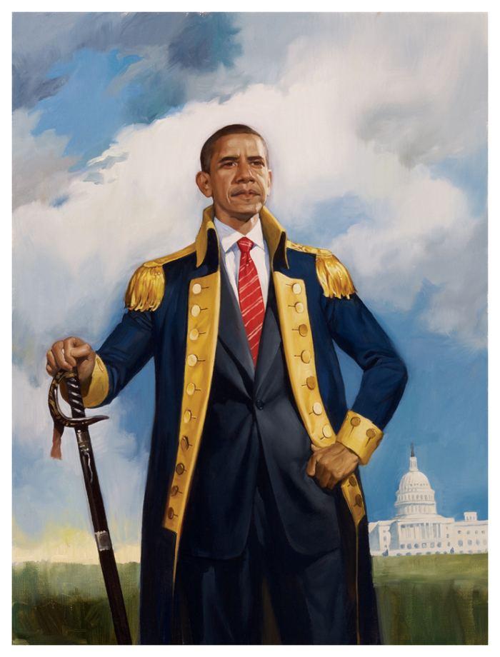Roberto Parada The Obama Conquest by Roberto Parada ILLUSTRATION AGE