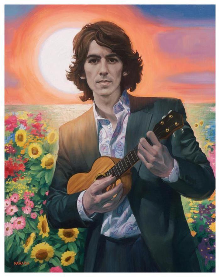 Roberto Parada George Harrison Portrait by Roberto Parada ILLUSTRATION AGE