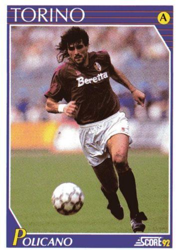 Roberto Policano TORINO Roberto Policano 243 SCORE 1992 Italian Football Trading Card