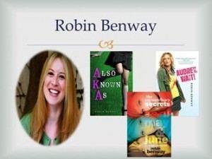Robin Benway Robin Benway Cavalcade of Authors