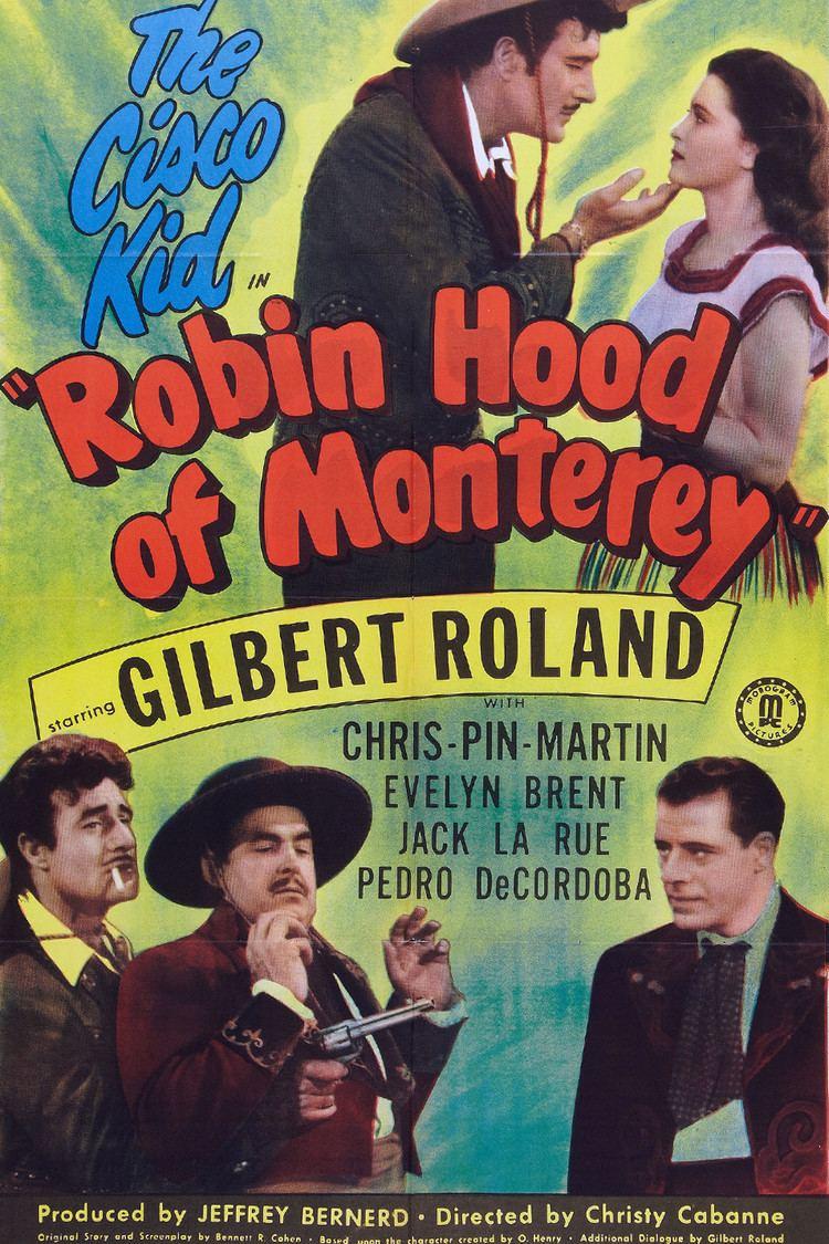 Robin Hood of Monterey wwwgstaticcomtvthumbmovieposters39736p39736