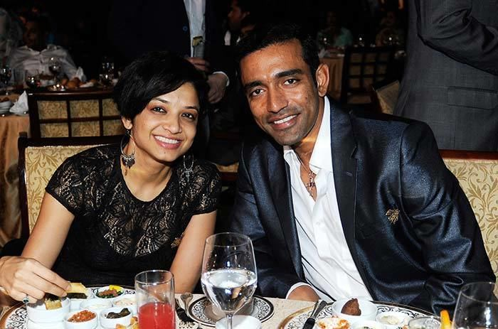 Robin Uthappa (Cricketer) family