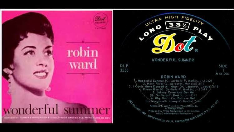 Robin Ward (singer) Robin Ward Jackie Ward Wonderful Summer stereo version YouTube