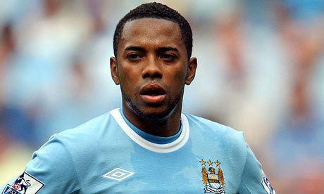 Robinho Injured Robinho faces longer spell on Manchester City
