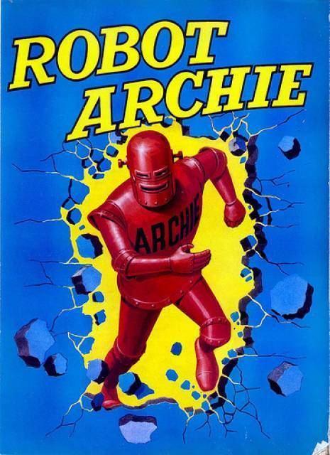Robot Archie Robot Archie Character Comic Vine