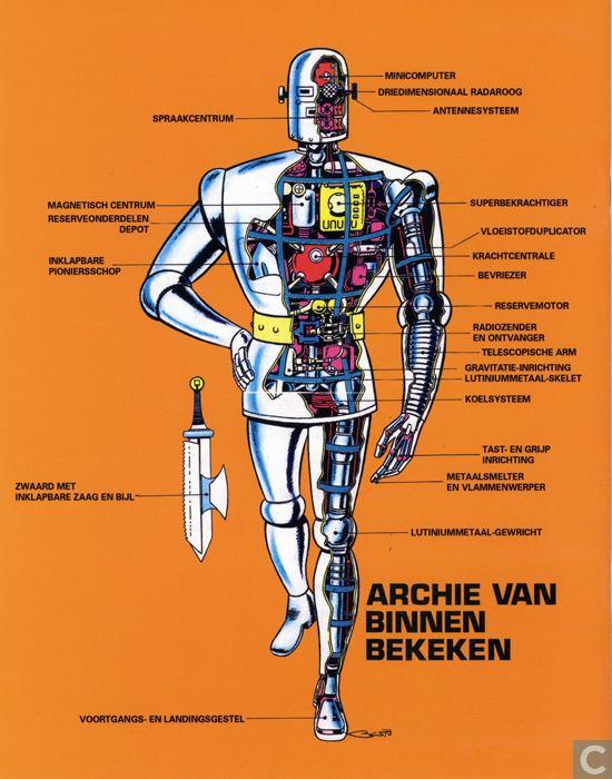 Robot Archie Robot Archie 10 Archie in de ijstijd Comic book catalogue at Catawiki