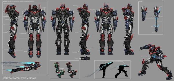 Robot Taekwon V Picture of Robot Taekwon V