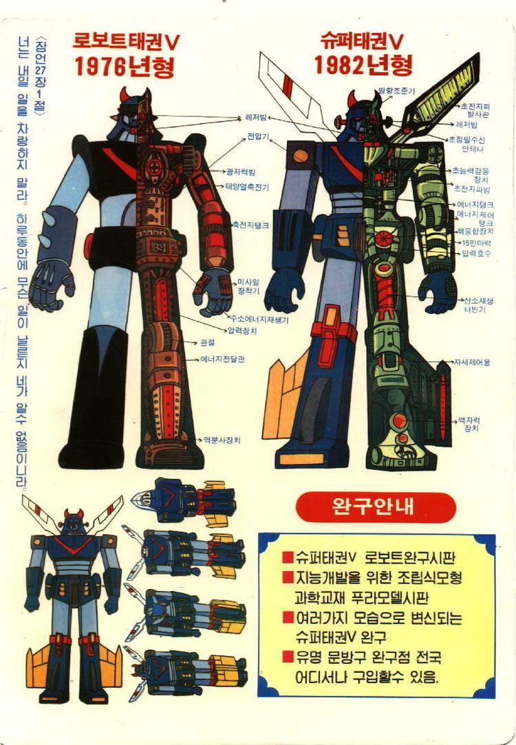 Robot Taekwon V Robot Taekwon V CollectionDX