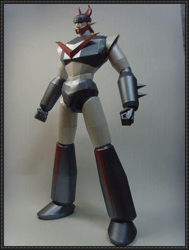Robot Taekwon V Robot Taekwon V Papercrafts PaperCraftSquarecom