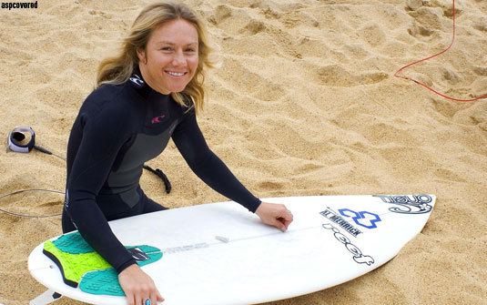 Rochelle Ballard ROCHELLE BALLARD From Yoga DVDs to Screaming Barrels SURFER Magazine