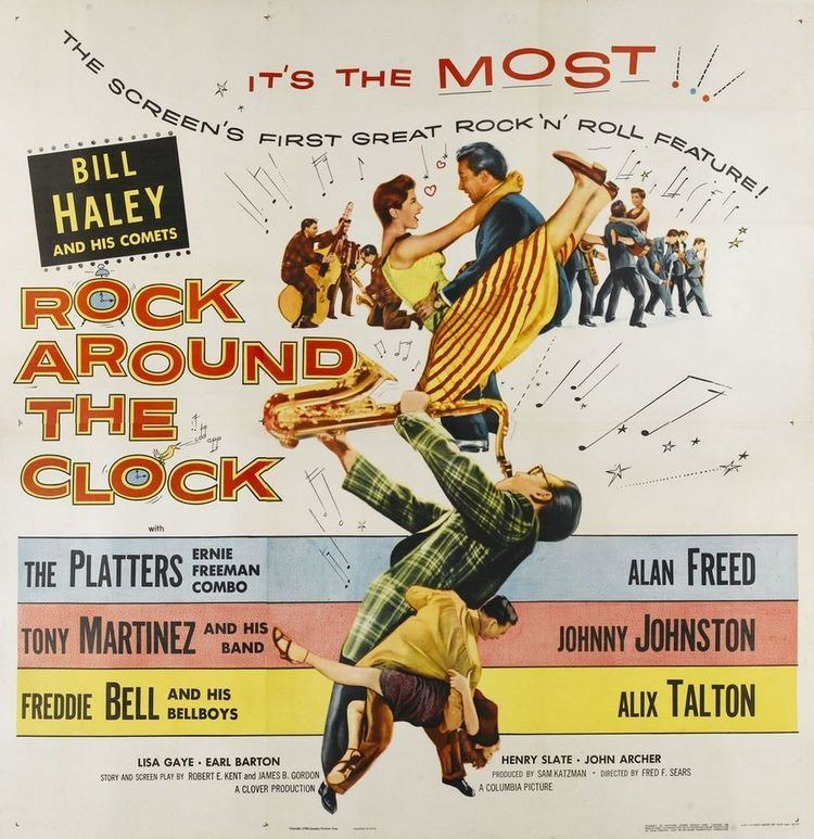 Rock Around the Clock (film) Rock Around The Clock 1956 Elvis Echoes Of The Past