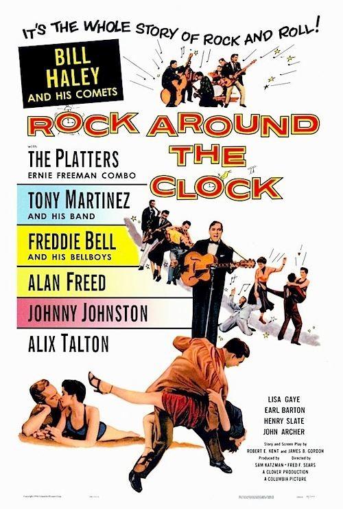 Rock Around the Clock (film) ROCK AROUND THE CLOCK 1956 Movie on DVD Bill Haley Comets ROCK