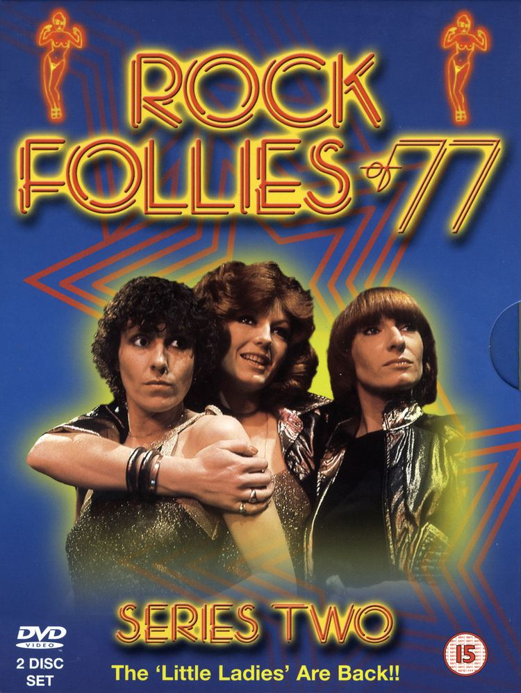 Rock Follies RockyMusic Rock Follies of 3977 DVD Front Cover image