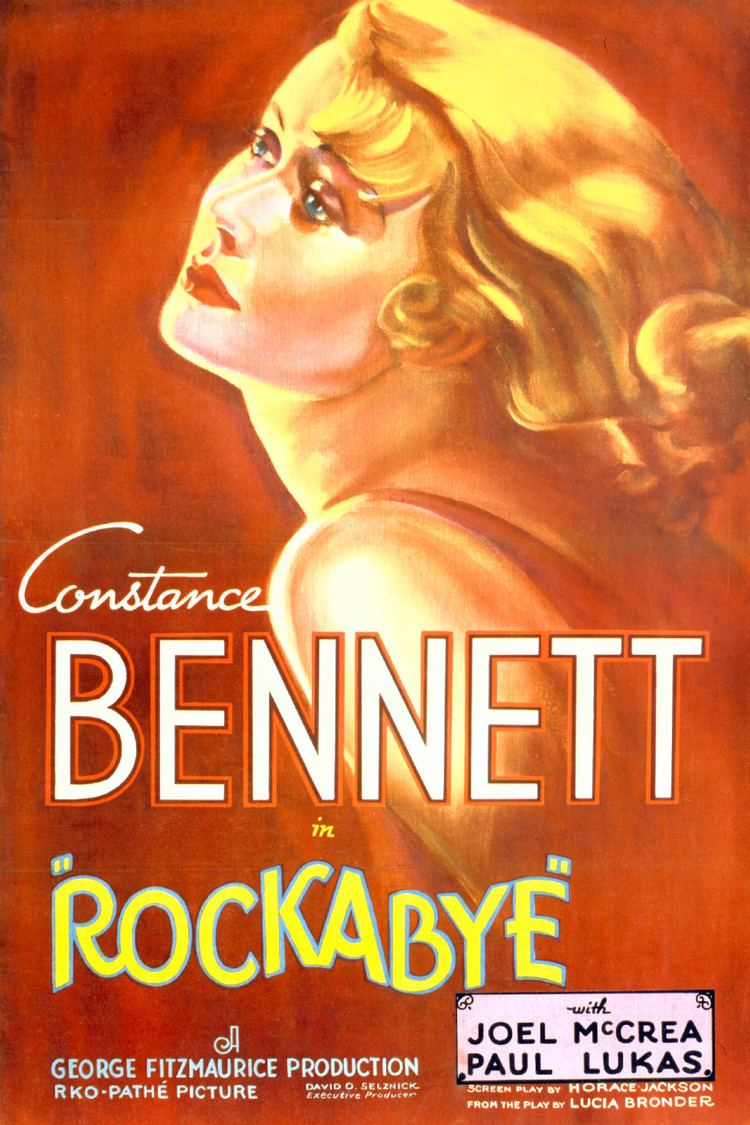Rockabye (1932 film) wwwgstaticcomtvthumbmovieposters45006p45006