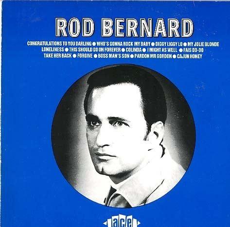 Rod Bernard Herberts Oldiesammlung Secondhand LPs Rod Bernard Rod