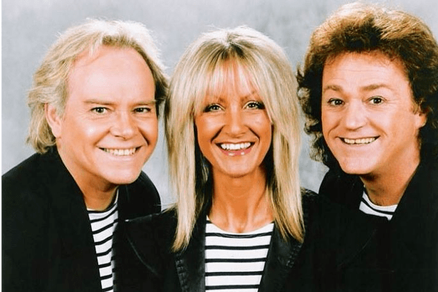 Rod Burton Jane and Freddy from Rainbow have FINALLY got married 30 years after