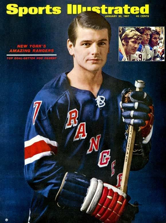 Rod Gilbert Blueshirts by the Numbers Number 7 Rod Gilbert