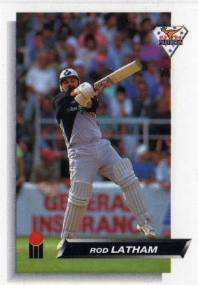 NEW ZEALAND Rod Latham 30 1993 FUTERA 9394 Collectable Cricket