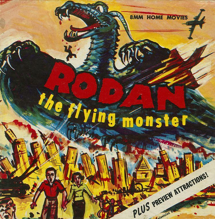 Rodan (film) Rodan movie monster HORRORPEDIA