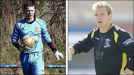 Roddy McKenzie BBC Sport Football Keepers Roddy McKenzie and Ross Hyslop join