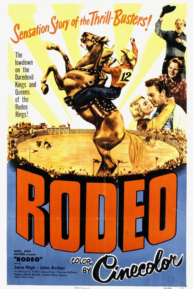 Rodeo (film) wwwgstaticcomtvthumbmovieposters93289p93289