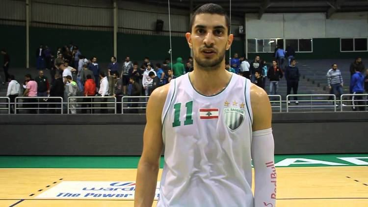 Rodrigue Akl Post game interview with Rodrigue Akl Sagesse vs Tadamon YouTube
