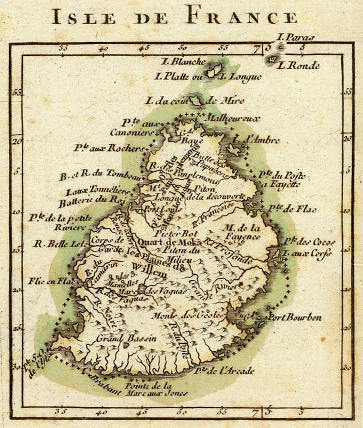 Rodrigues in the past, History of Rodrigues