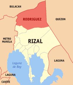 Rodriguez, Rizal Rodriguez Rizal Wikipedia