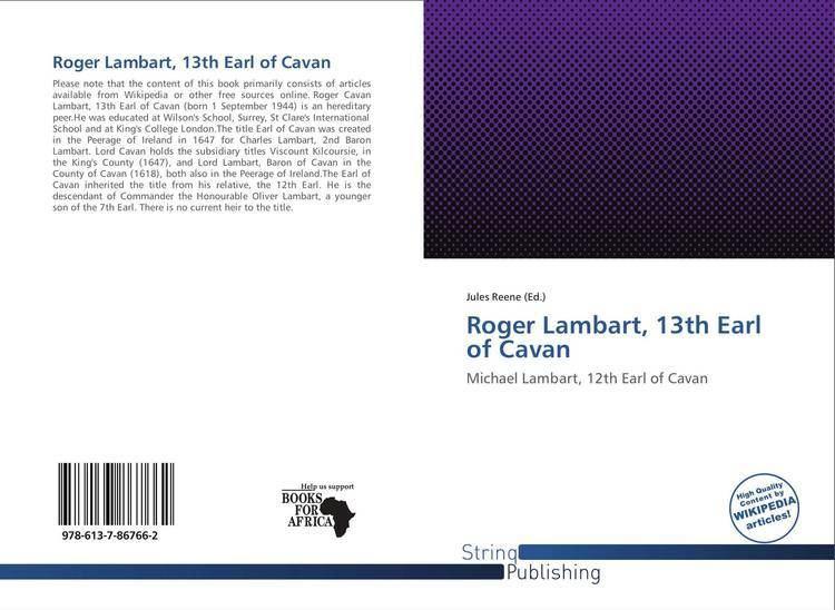 Roger Lambart, 13th Earl of Cavan