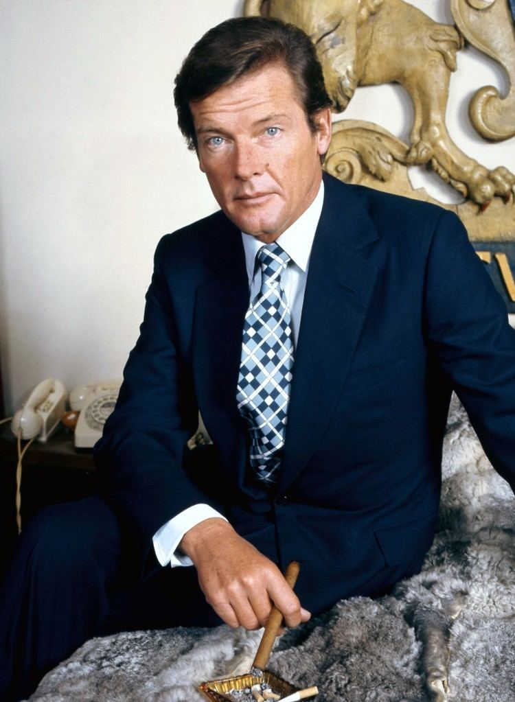 Roger Moore Roger Moore Wikipedia the free encyclopedia