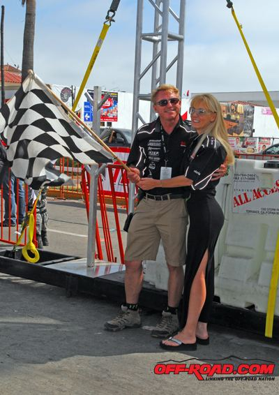 Roger Norman (racing driver) Elise Norman Interview at the SCORE Baja 500 OffRoadcom