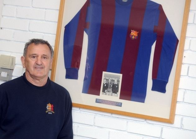 Roger Osborne Roger Osborne recalls the day he marked Barcelonas Johan Cruyff out