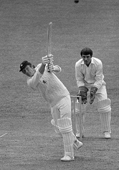 Roger Tolchard (Cricketer) playing cricket