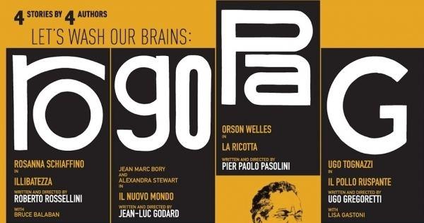 Ro.Go.Pa.G. RoGoPaG 4 legendary directors united for a common cause Aleph