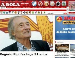 Rogério Pipi Alvo de Heleno no Botafogo portugus Rogrio completa 91 anos