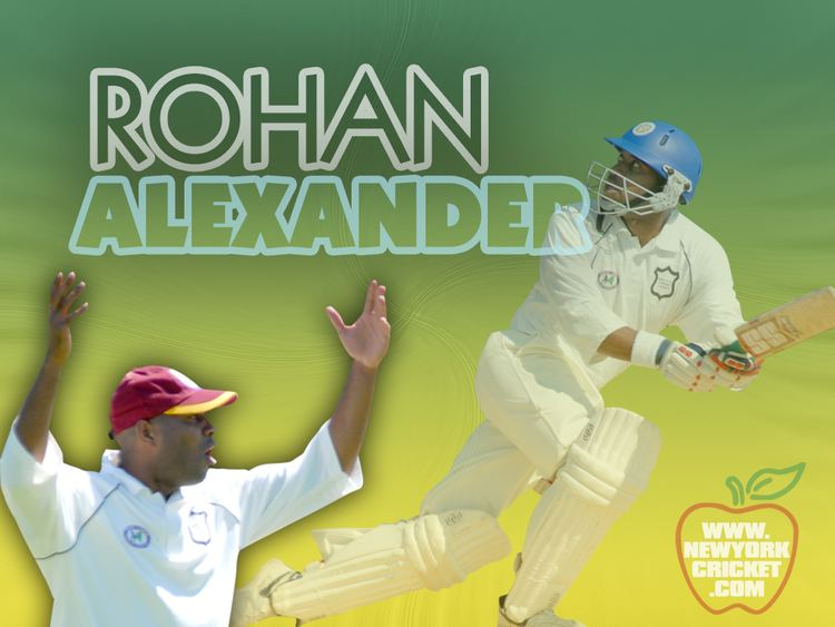 Rohan Alexander (Cricketer) in the past