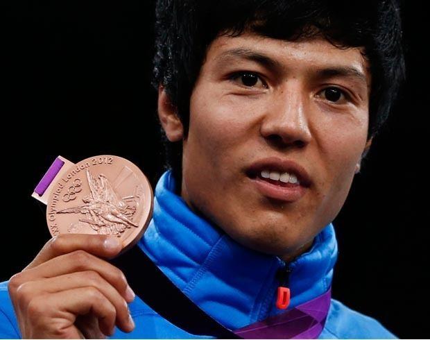 Rohullah Nikpai ISAF congratulates Afghan Olympic medalist Rohullah Nikpa