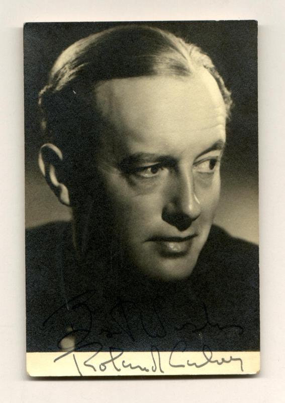 Roland Culver Clickautographs autographs Roland Culver