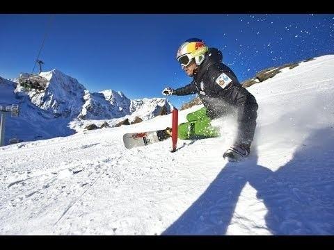 Roland Fischnaller (snowboarder) Professional alpine snowboarder prepares for the World Cup