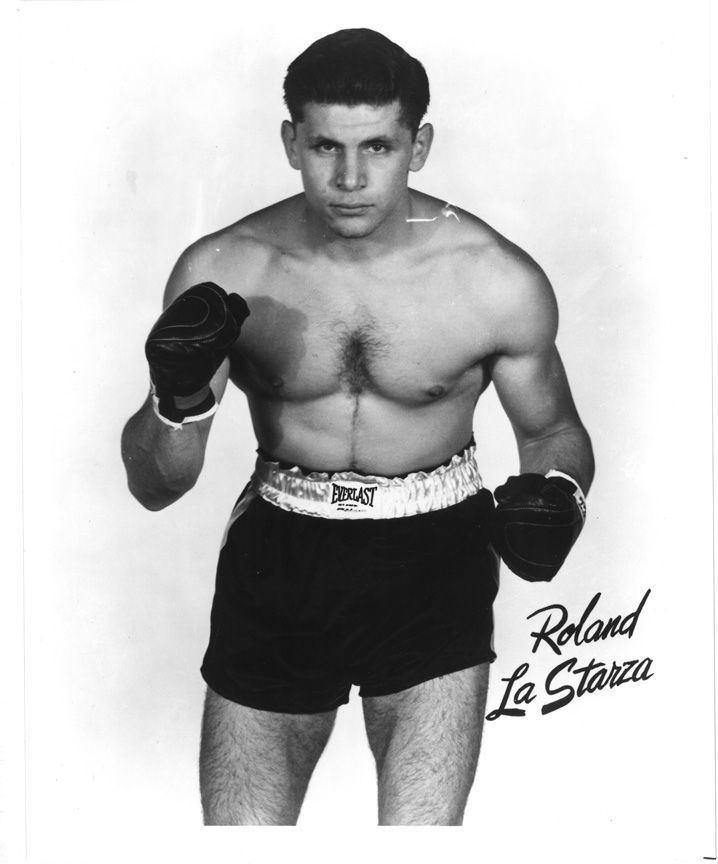 Roland La Starza Roland LaStarza Classic Italian American boxers Pinterest