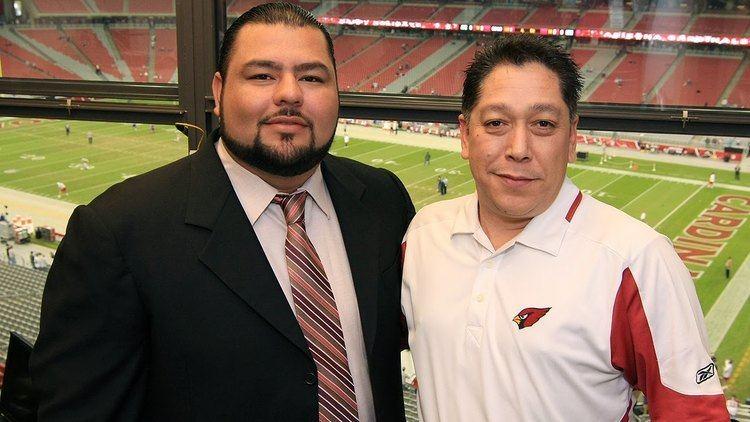 Rolando Cantú NFL Hispanic Heritage Month 2015 Rolando Cantu and Gabriel