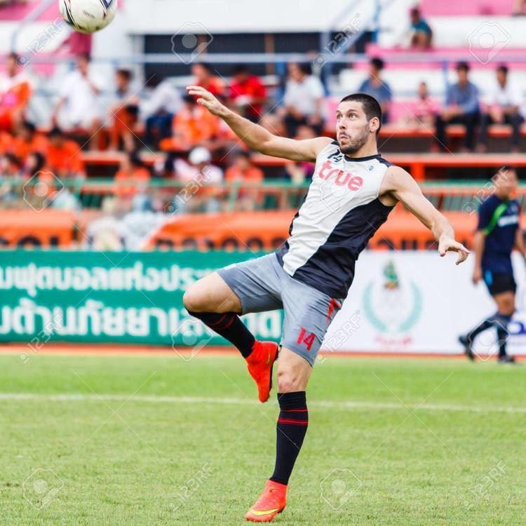 Romain Gasmi SISAKET THAILANDJUNE 29 Romain Gasmi Of Bangkok Utd In