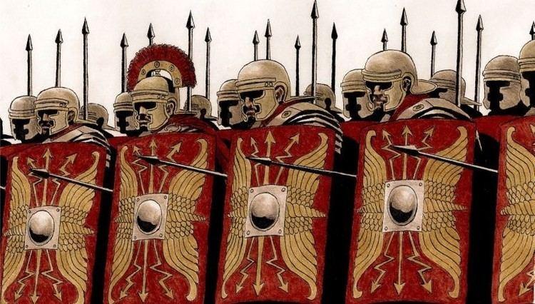 Roman army Animated Short Shows The Roman Army Organization